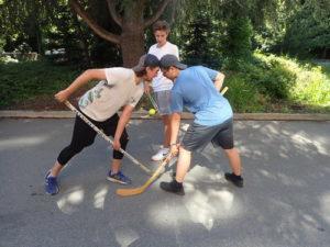 加拿大式活動曲棍球