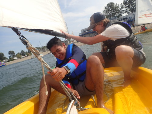 英語夏令營帆船航行