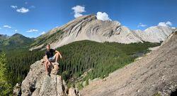 加拿大落磯山健行露營